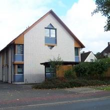 Doppelhaus in Bielefeld - Holzbauweise #1