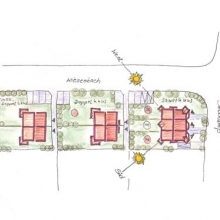 Doppelhaus in Bielefeld - Holzbauweise #5